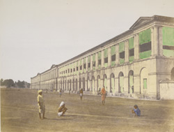 The barracks at Hooghly